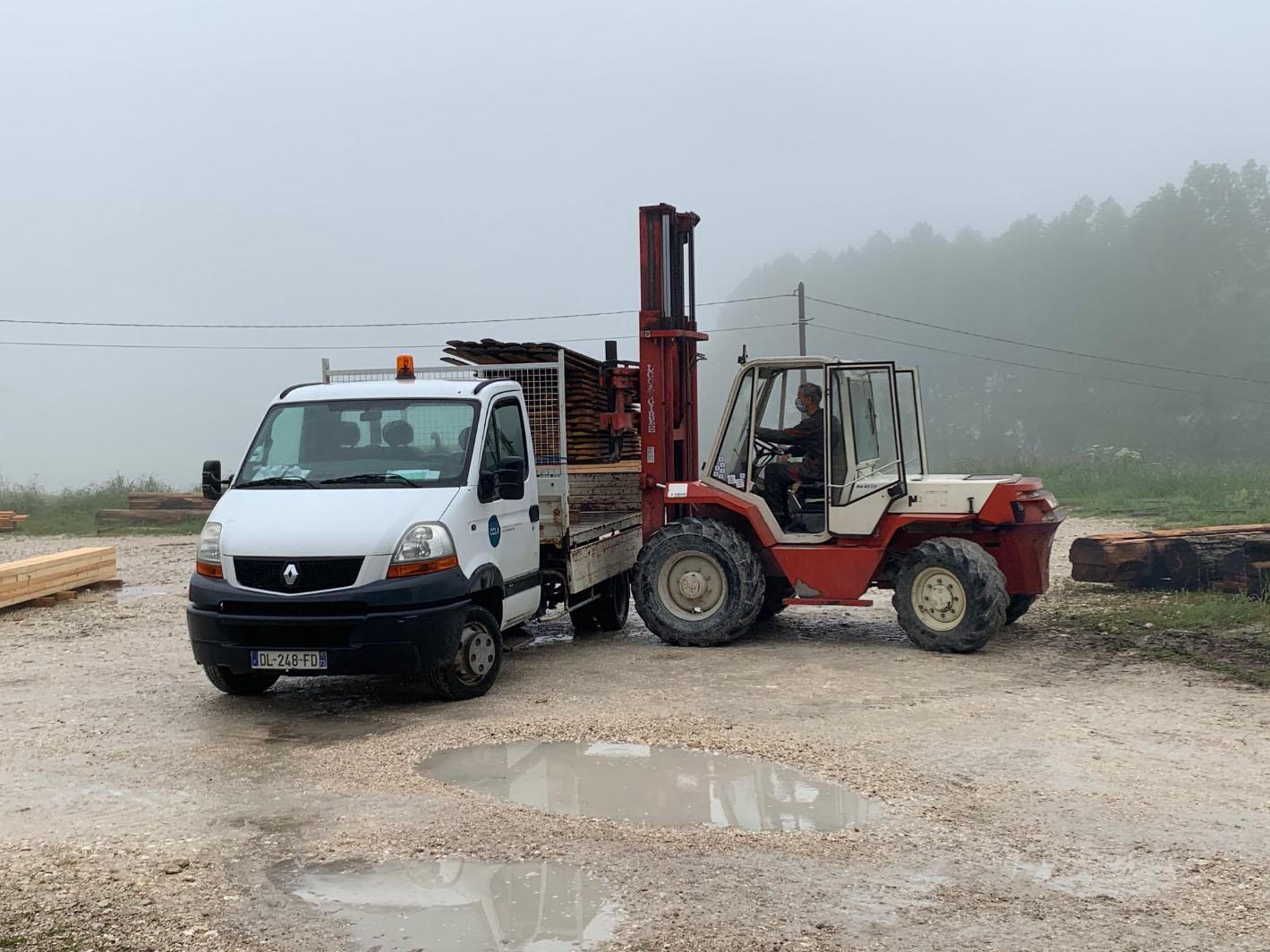 L'entreprise «Bovagnet», la scierie locale engagée aux côtés d'ARCHI'Nature